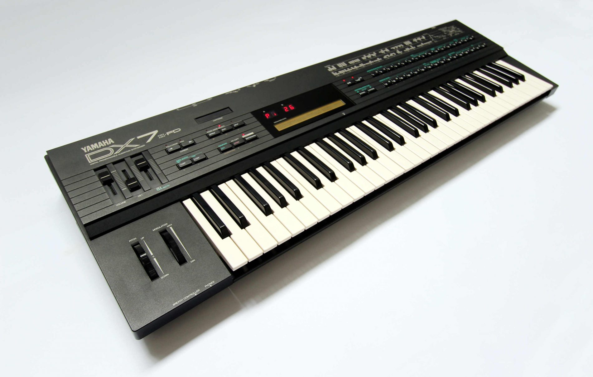 Yamaha DX7IIFD Synthesizer (1986) | Wolf Review